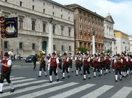 Fahrt nach Rom zur Benedikt Parade (23. - 25.05.2008)