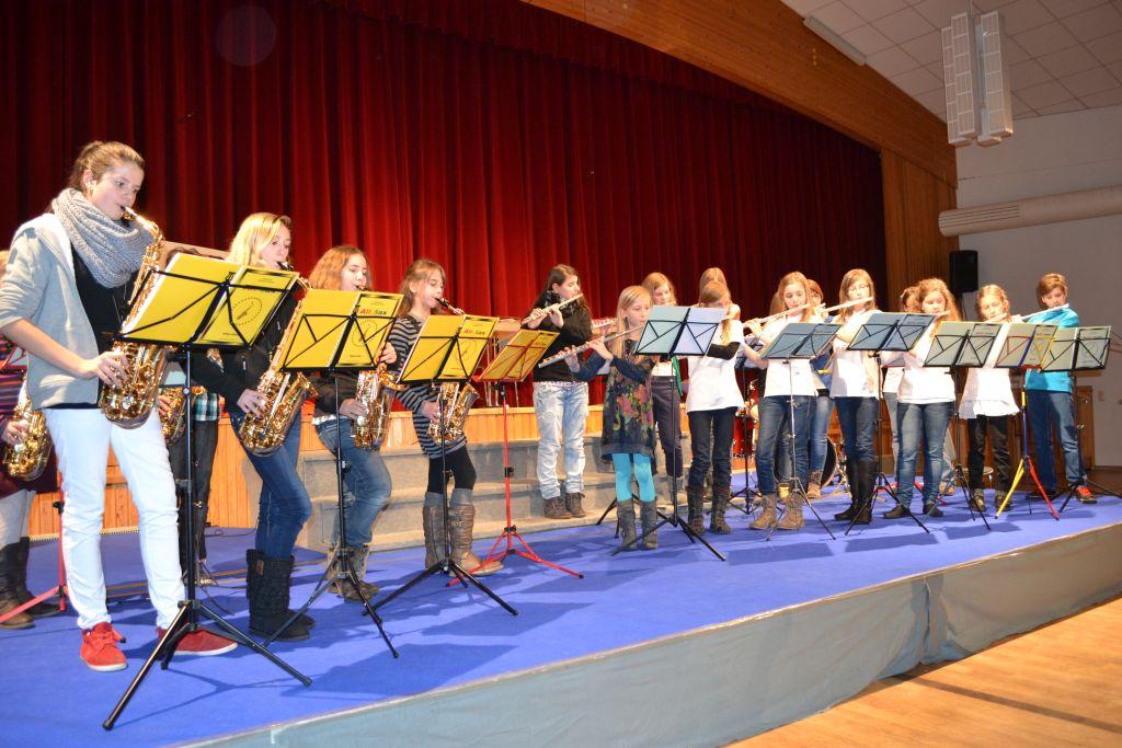 Saxophon und Querflöten_1